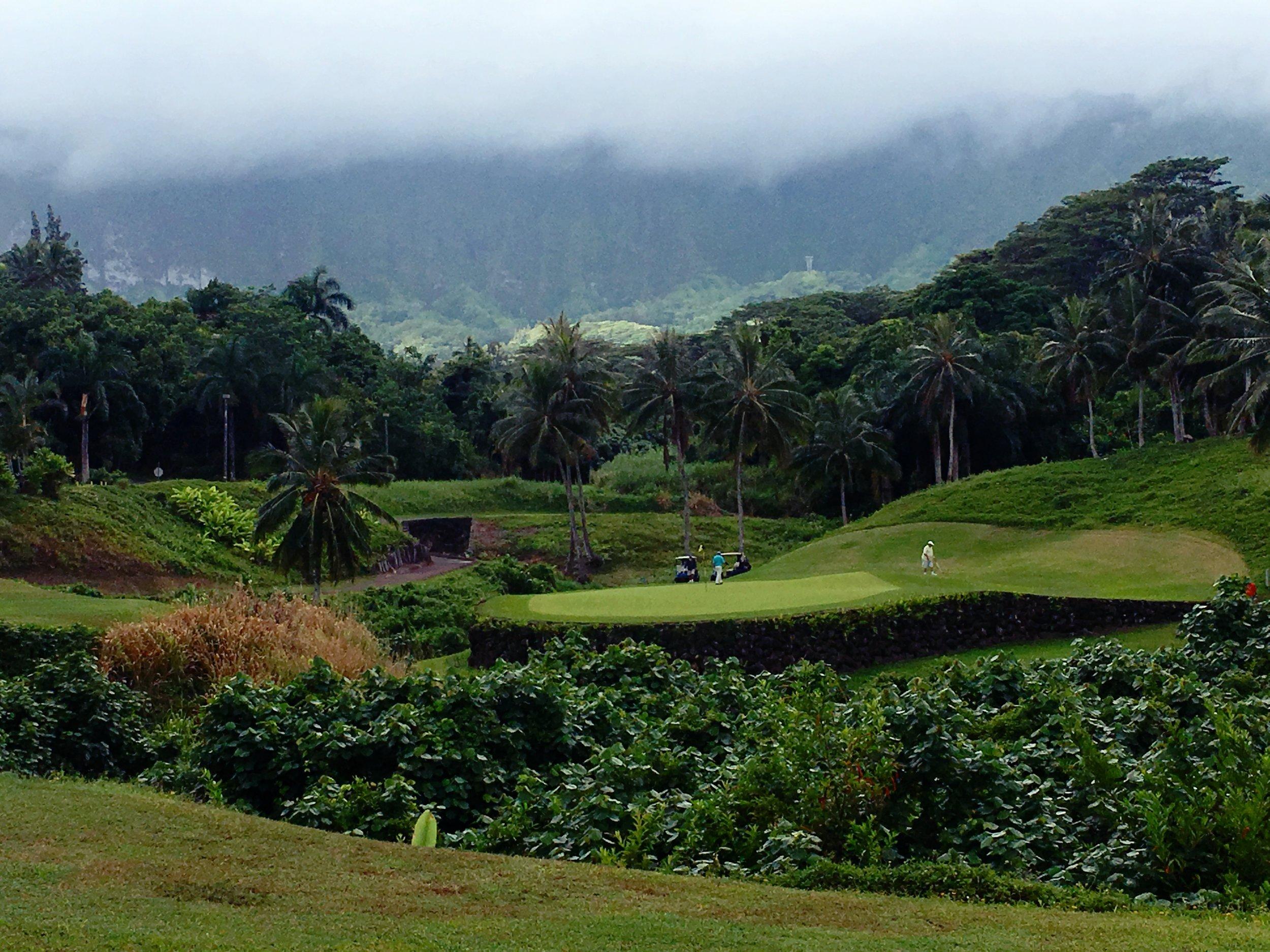 Royal hawaiian golf course