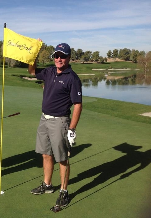 Kieran mcmahon at shadow creek golf club