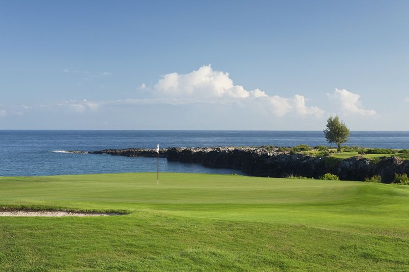 The bay course at kapalua