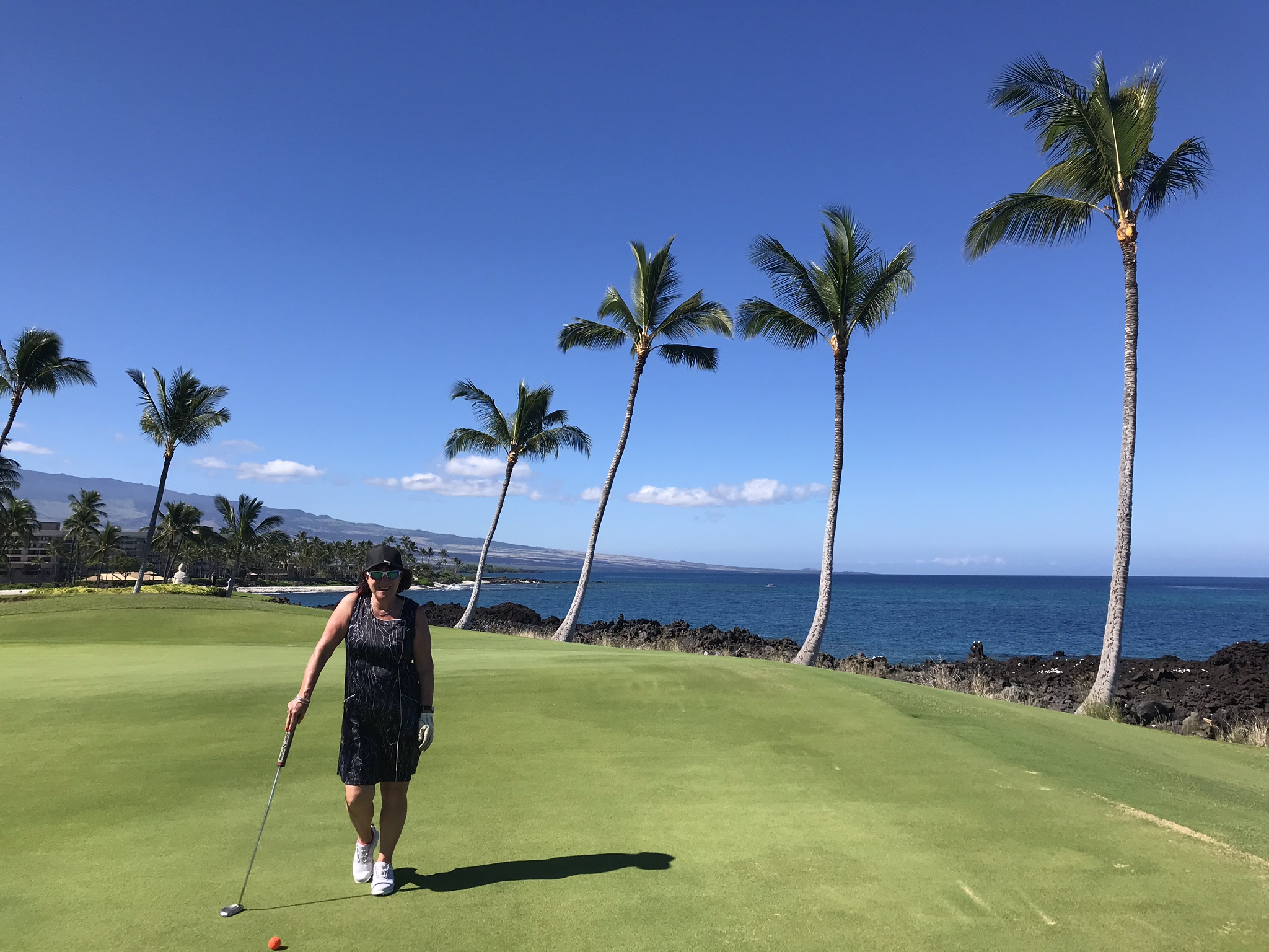 Oceanside golf at Mauna Lani