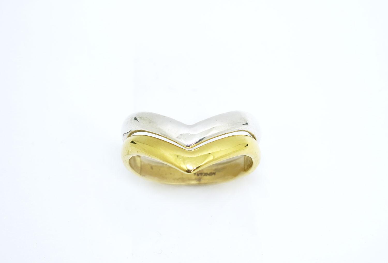 Copy of Chevron Ring Silver