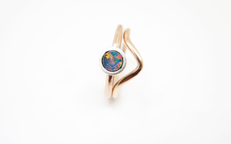 Arrow ring Rose Gold