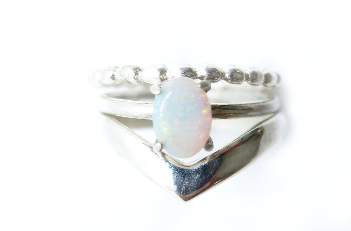 Dot Ring Silver