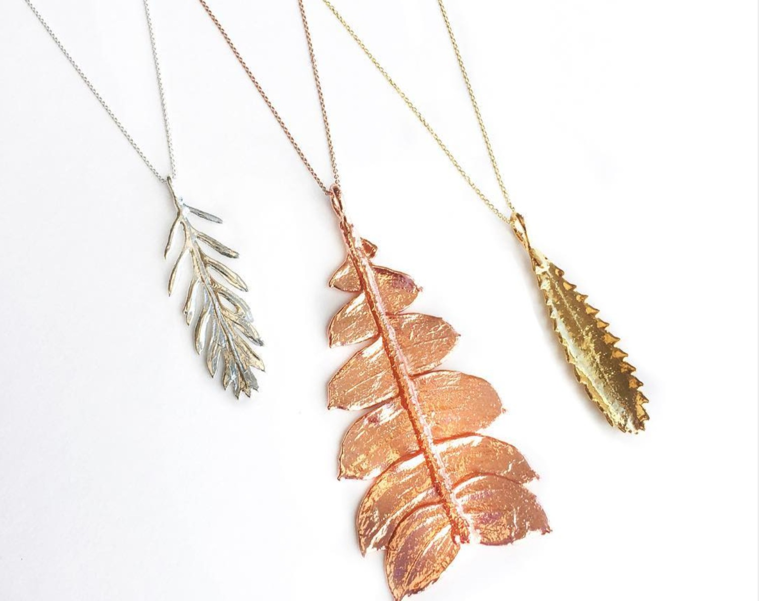 LEAVES & LIVING JEWELRY -