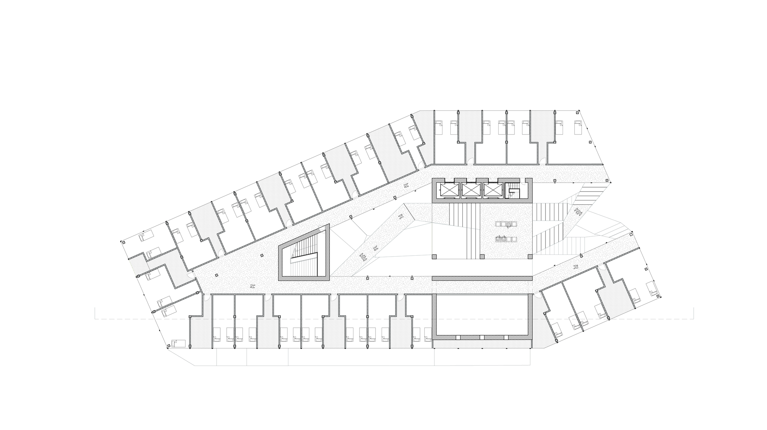 dormitory plan