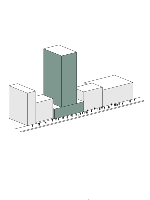 analysis diagram: typical high rise