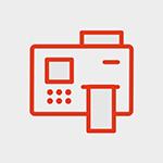Barcode printing, barcode printing icon