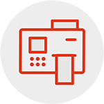 barcode printer icon