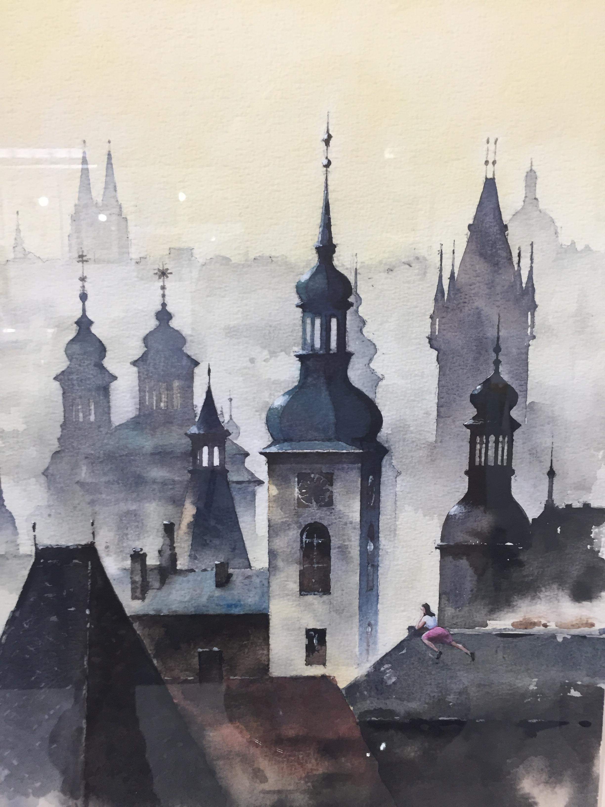 Rhapsody in Prague, by  Jinchen Han