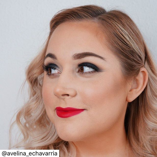 """""""The most beautiful makeup of a woman is passion. But cosmetics are easier to buy"""" -Yves Saint Laurent 💋 . . .  Thank you for getting me stage-ready for a @houstonshowchoir performance, @avelina_echavarria! My favorite part of being in your chair is talking about all things life, beauty, and Sabrina! #MakeupbyAvelina #houstonmakeupartist #htx #houston"""