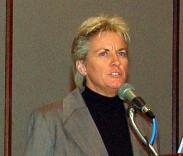 Commander Lori Moriarty