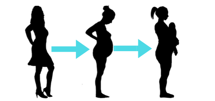 Structural Changes that occur during pregnancy and after birth