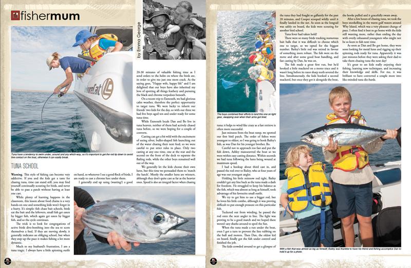 Fisher Mum: Tuna School