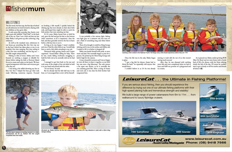 Fisher Mum : Milestones