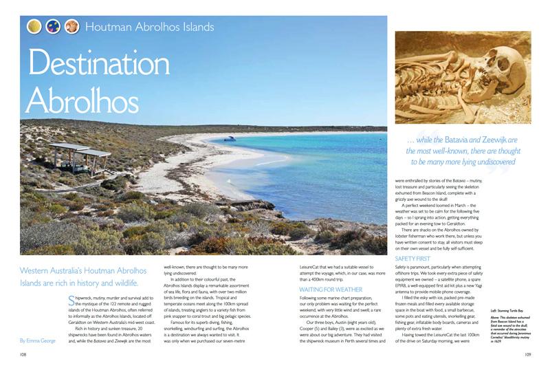 Destination Abrolhos