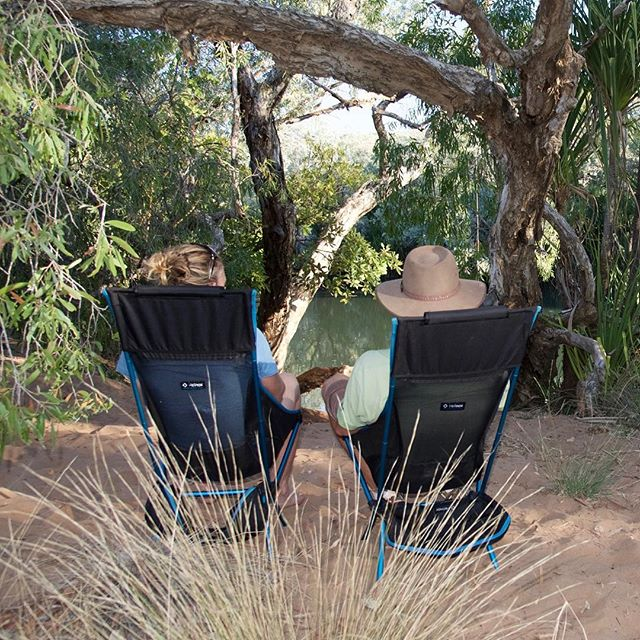 A quiet minute on our @helinox chairs but #wherearethekids? #lovetheoutdoors #camping #roadtrip #wilderness