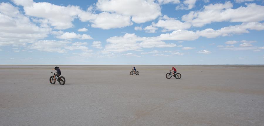 bikes Lake Eyre
