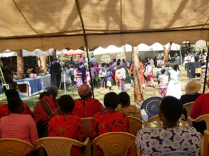 Harambee tent view