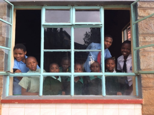 The Vocational Training Center needs windows! Make your end of year gift to support this next phase of construction.