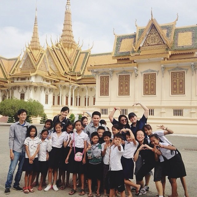 Our Riverkids #children enjoyed a #fun field trip to the Royal Palace in Phnom Penh with #volunteers from RBS. If you would like to get involved with Riverkids, check out our website and Facebook page for more details. We would love to hear from you! #cambodia #love