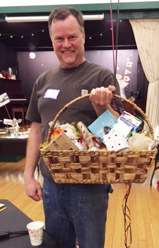 Last year's big Bunco winner! Mike Guebert from Terra Farma in Corbett, Oregon.