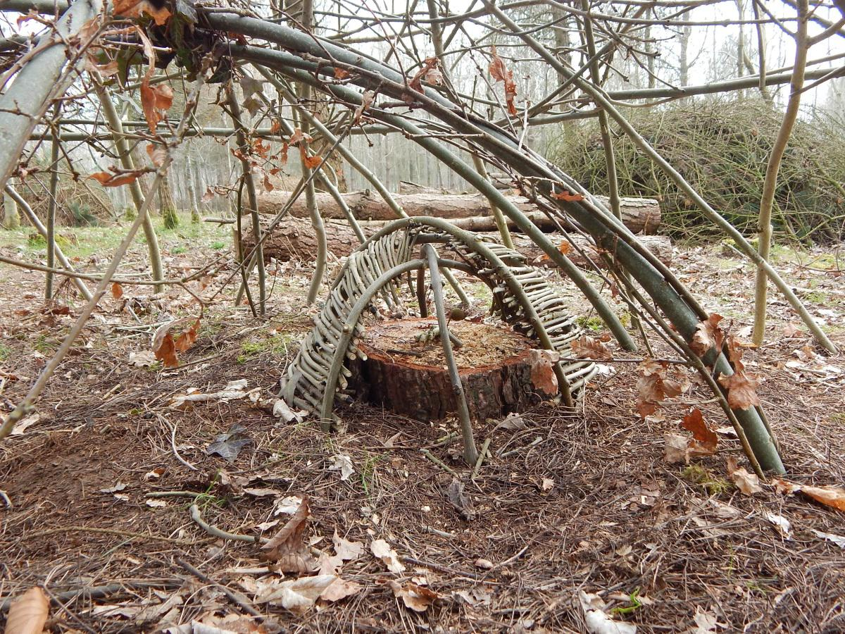 Nested structure for a small child