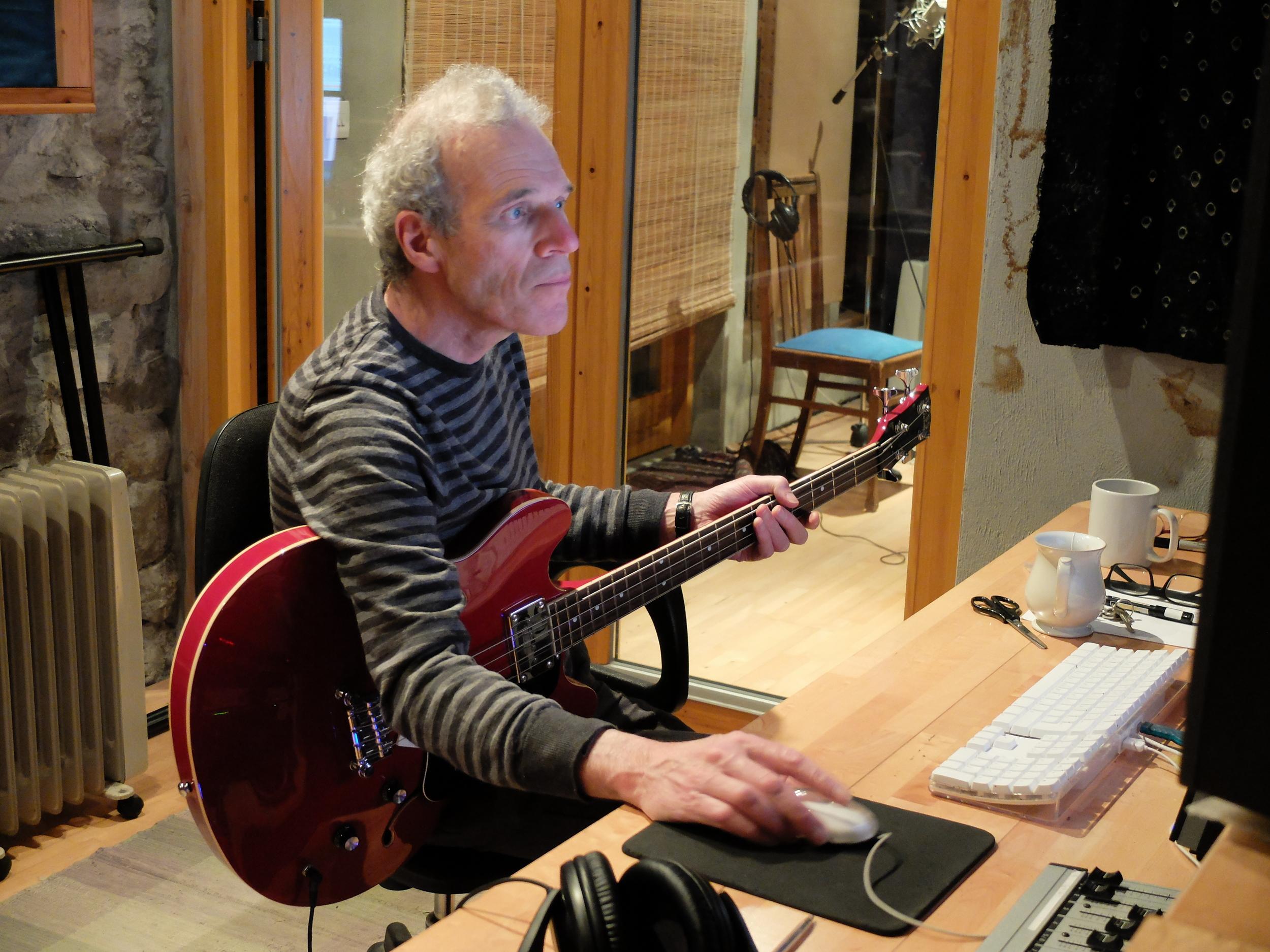 Garry Mixing April 25th 2015.JPG