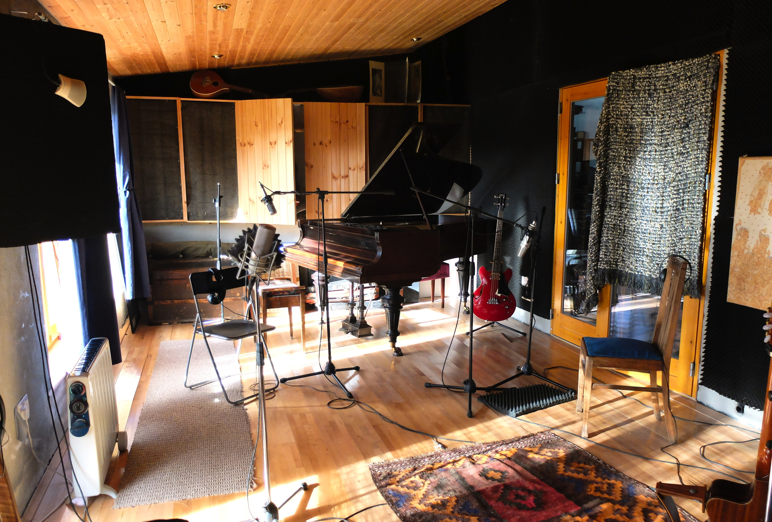 Garry O'Briain's studio in Co Clare where our new album was recorded Feb-May 2015