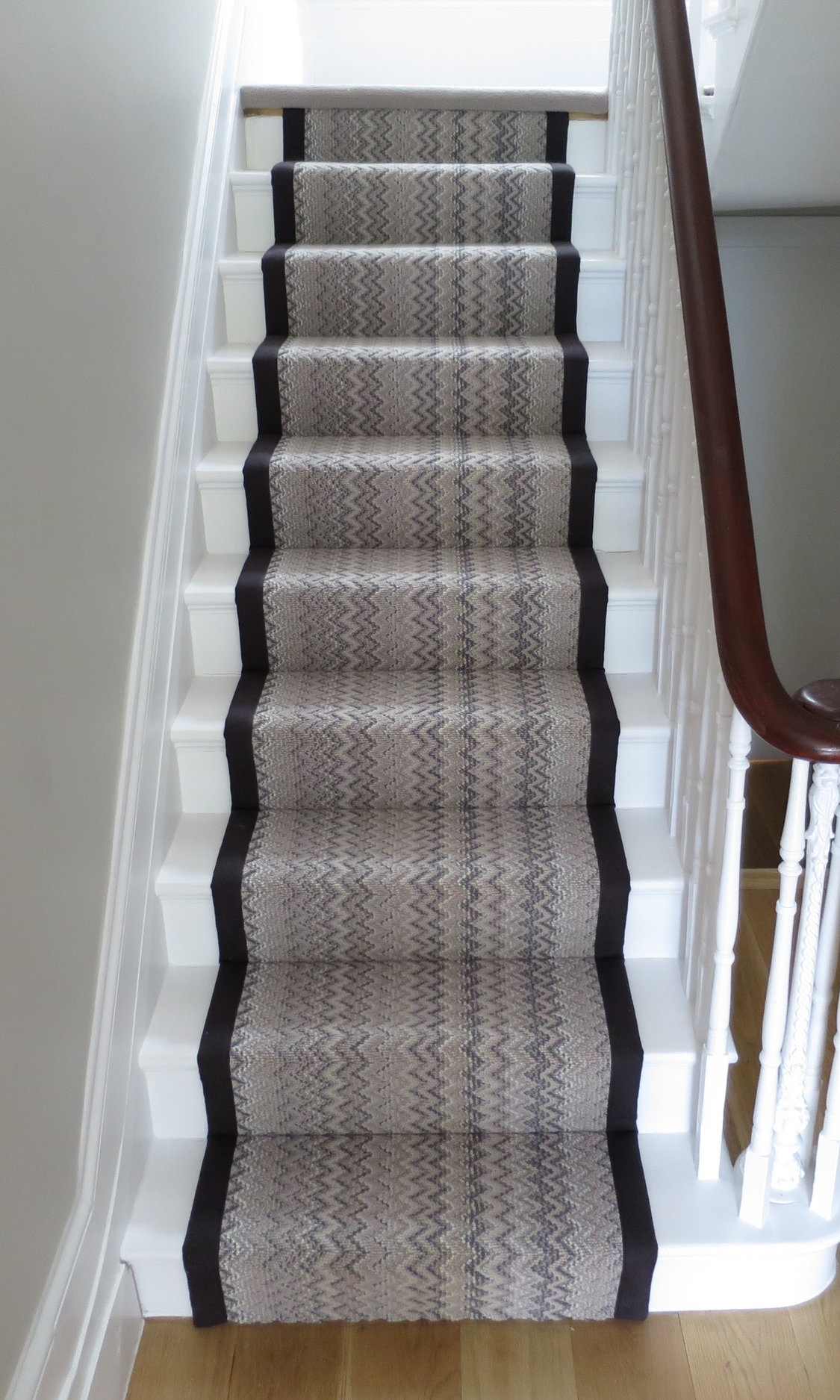 Bespoke Stair Runners - We offer a fully bespoke runner program on the majority of our ranges with custom sizes and edgings (such as binding and whipping) to suit any home.