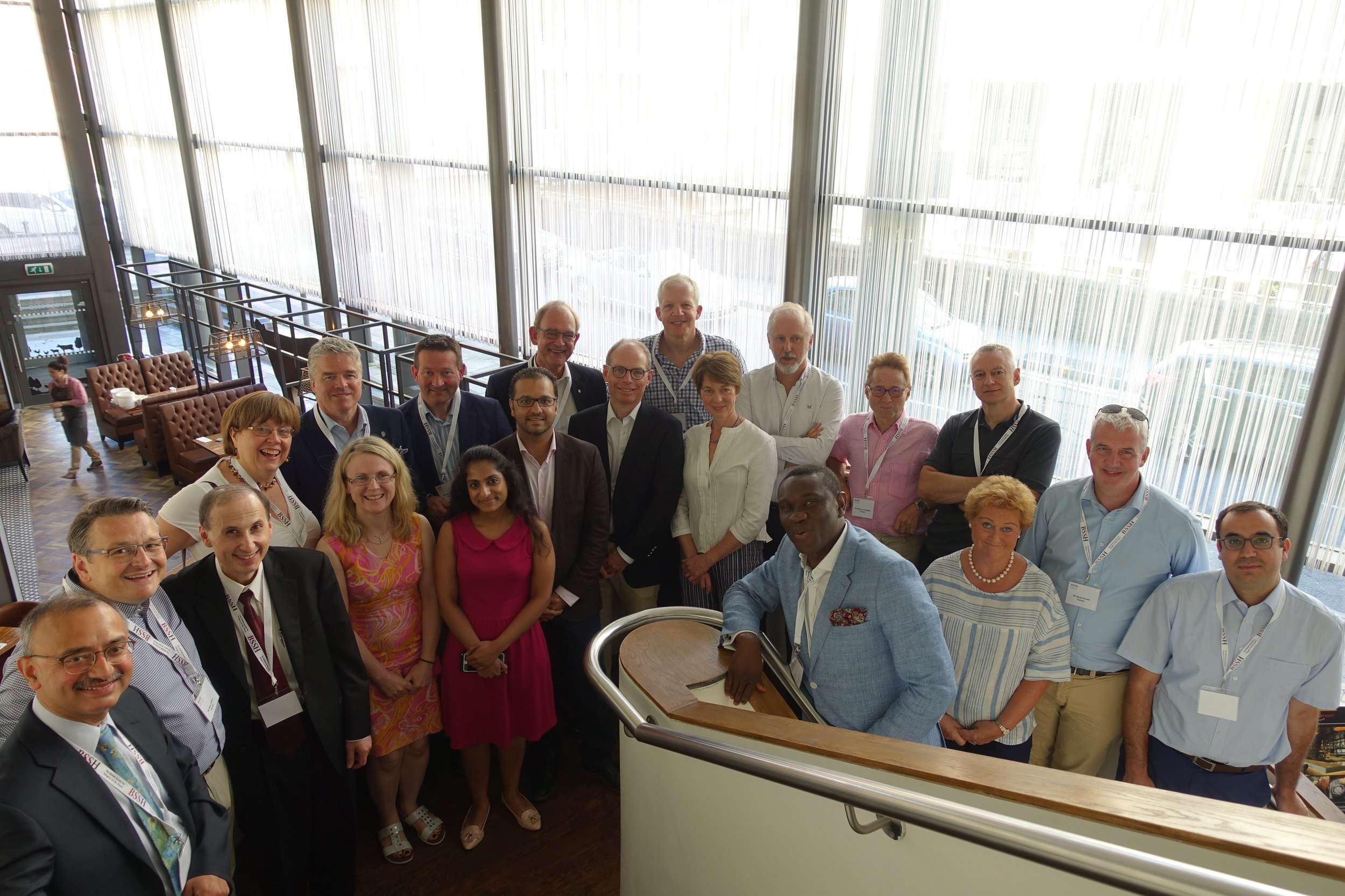 The faculty at the BSSH Instructional Course in Hand Surgery, Manchester, Saturday 30 June 2018