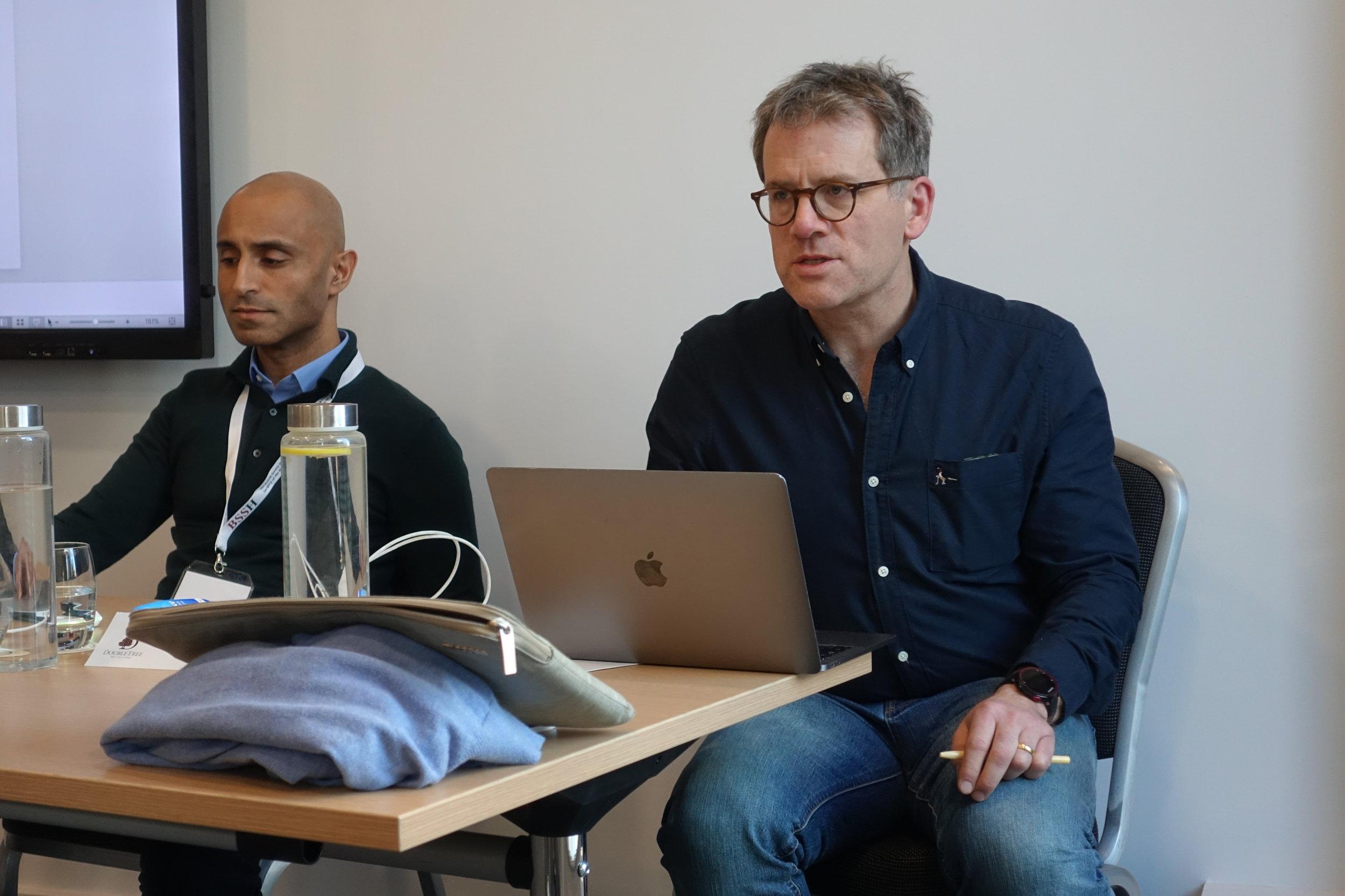 Mr Bran Sivakumar and Dr Frederik Verstreken