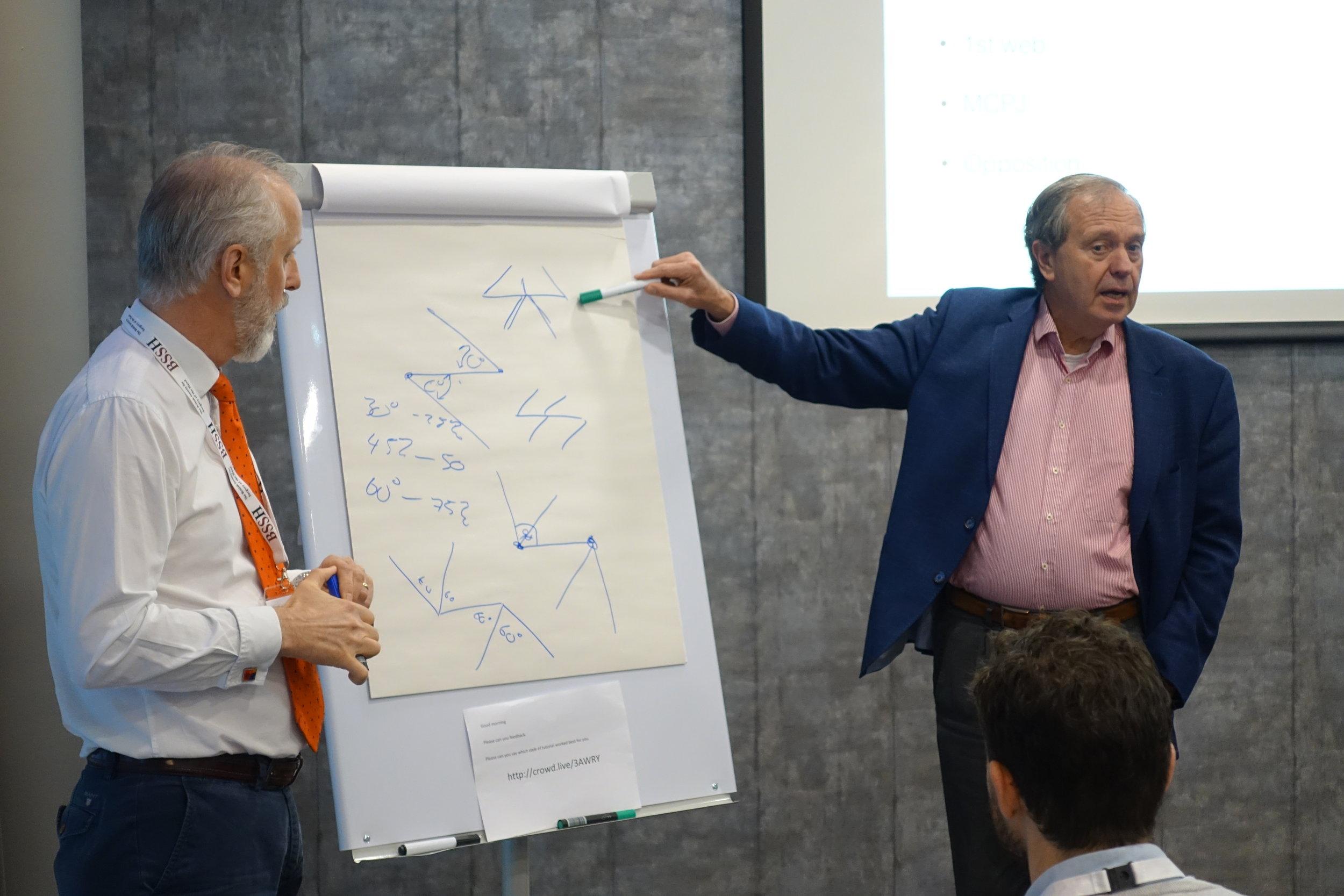Mr Mark Pickford and Professor Steven Hovius