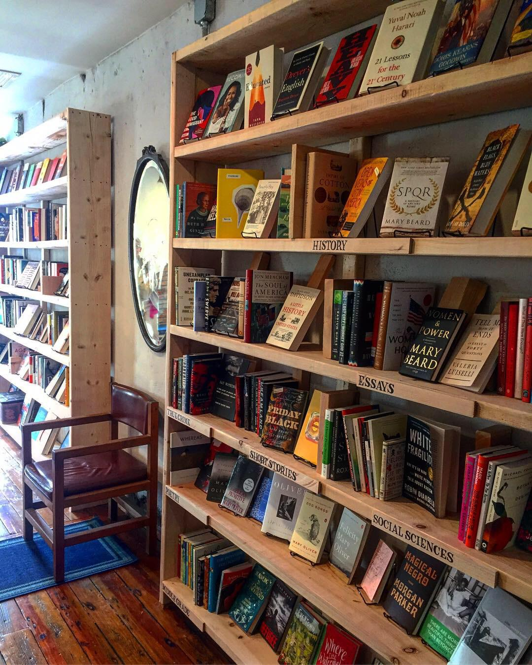 We opened a bookstore in East Kensington - We'll be your local purveyor of curated fiction, local lit, and children's/middle grade books. Come visit!