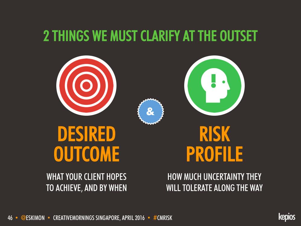 Creative Briefs - Understanding Clients - Kepios @eskimon