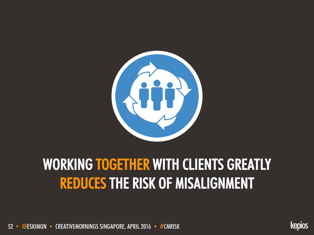 Partnership Reduces Risks - Kepios @eskimon