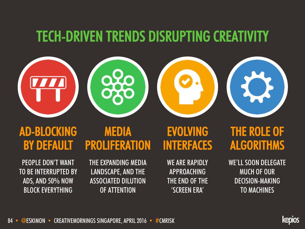 Types Of Tech Disruption - Kepios @eskimon