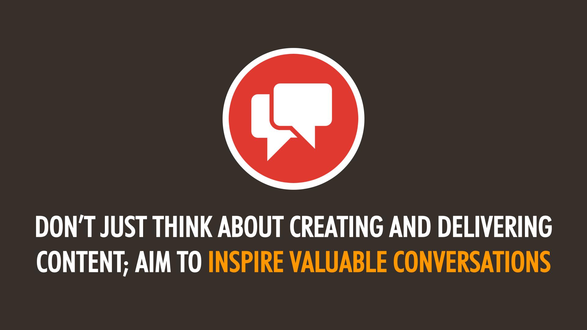 Social Media Success: Inspiring Meaningful Conversations