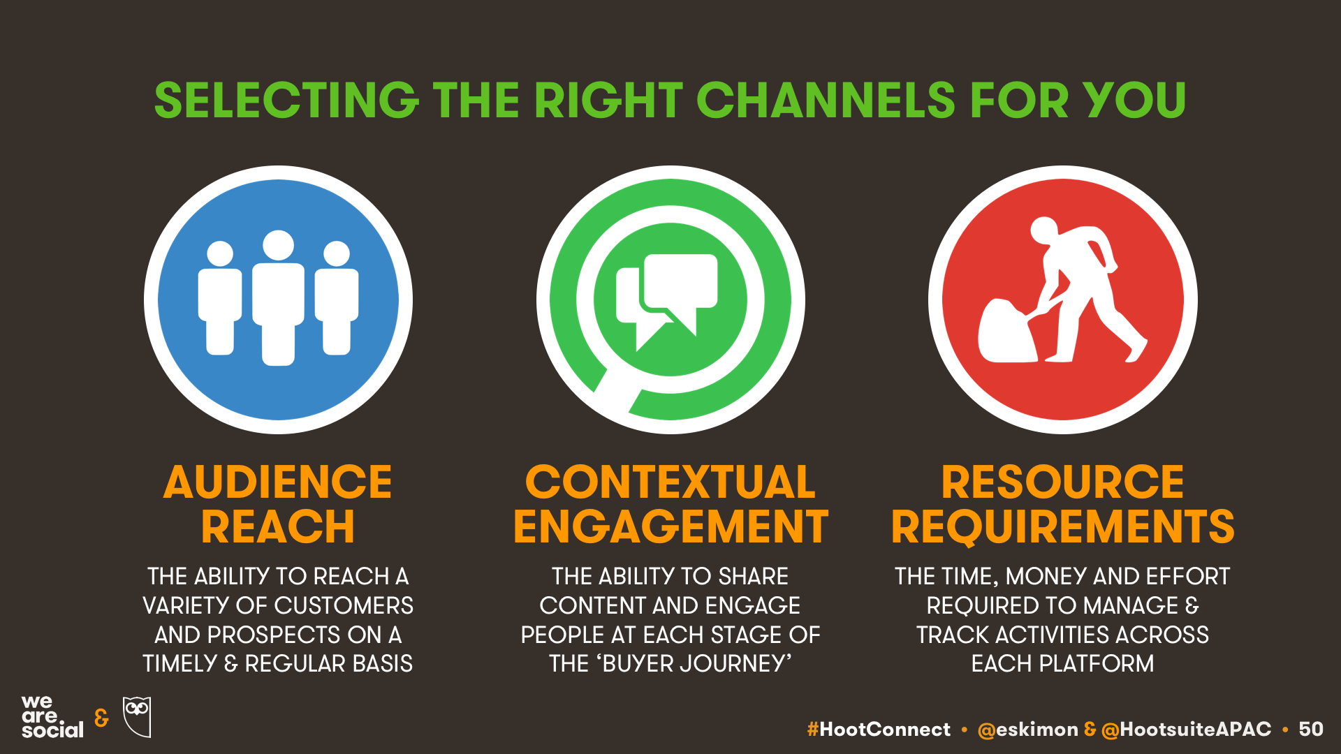 KEPIOS: CRITERIA FOR SELECTING SOCIAL SELLING CHANNELS AND PLATFORMS