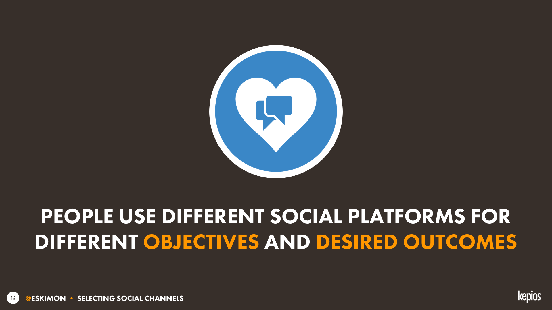 Usage motivations in social