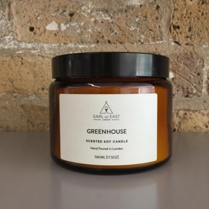 GREENHOUSE  The Greenhouse candle is inspired by long summers spent in our grandparents gardens. A bespoke blend of vine tomato, parsley seed and basil this is the ultimate fresh summer scent.  500ml [17.5 oz]  $70