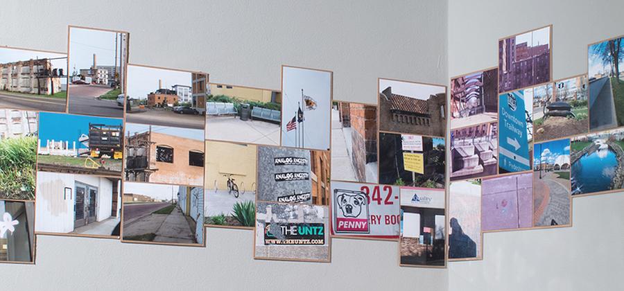 I am Here: Kalamazoo , photo installation, 2014