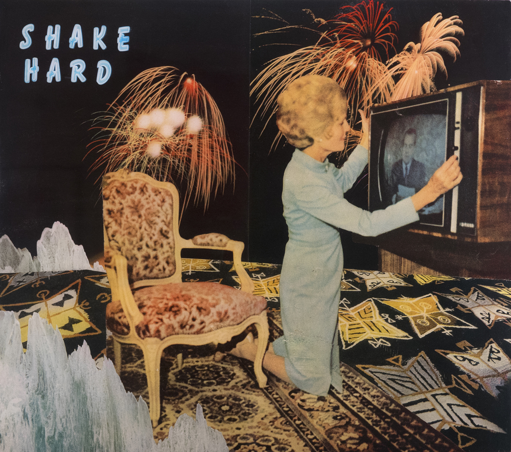 Shake Hard   Collage on Paper