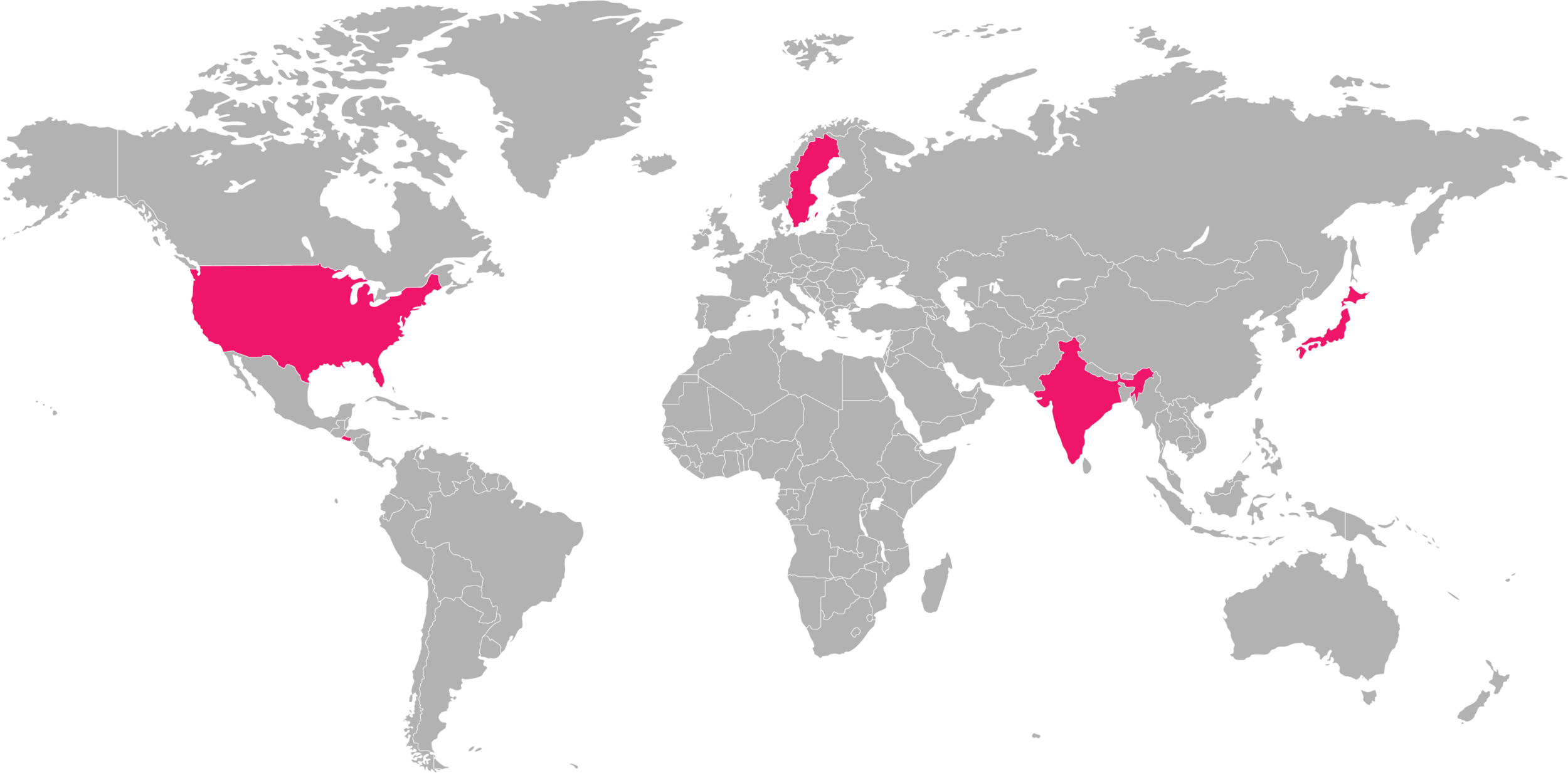 Paint it Pink! Check our global TAKE UP SPACE locations map!