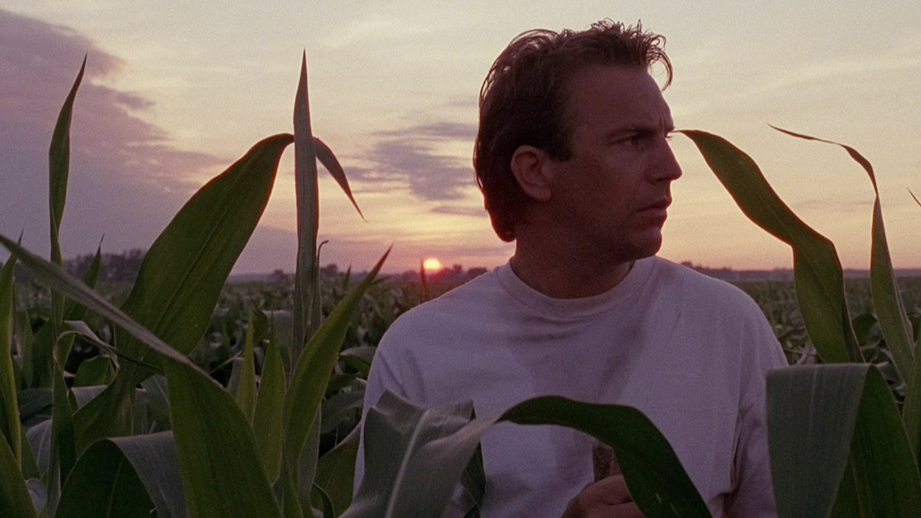 """CLICK (1/2 min clip) Scene from the 1989 movie """"Field of Dreams"""" starring Kevin Costner, about a farmer who builds a baseball diamond in the middle of his corn field out in the Iowa country side."""