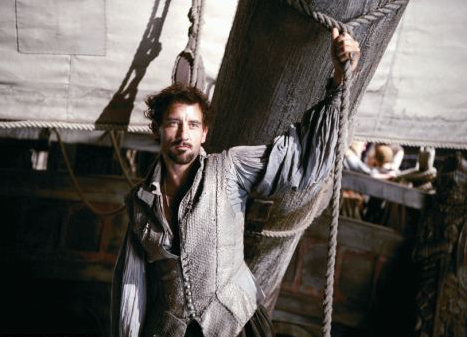 CLICK  (2 min clip) Sir Walter Raleigh, braving the unknown to discover something magnificent!