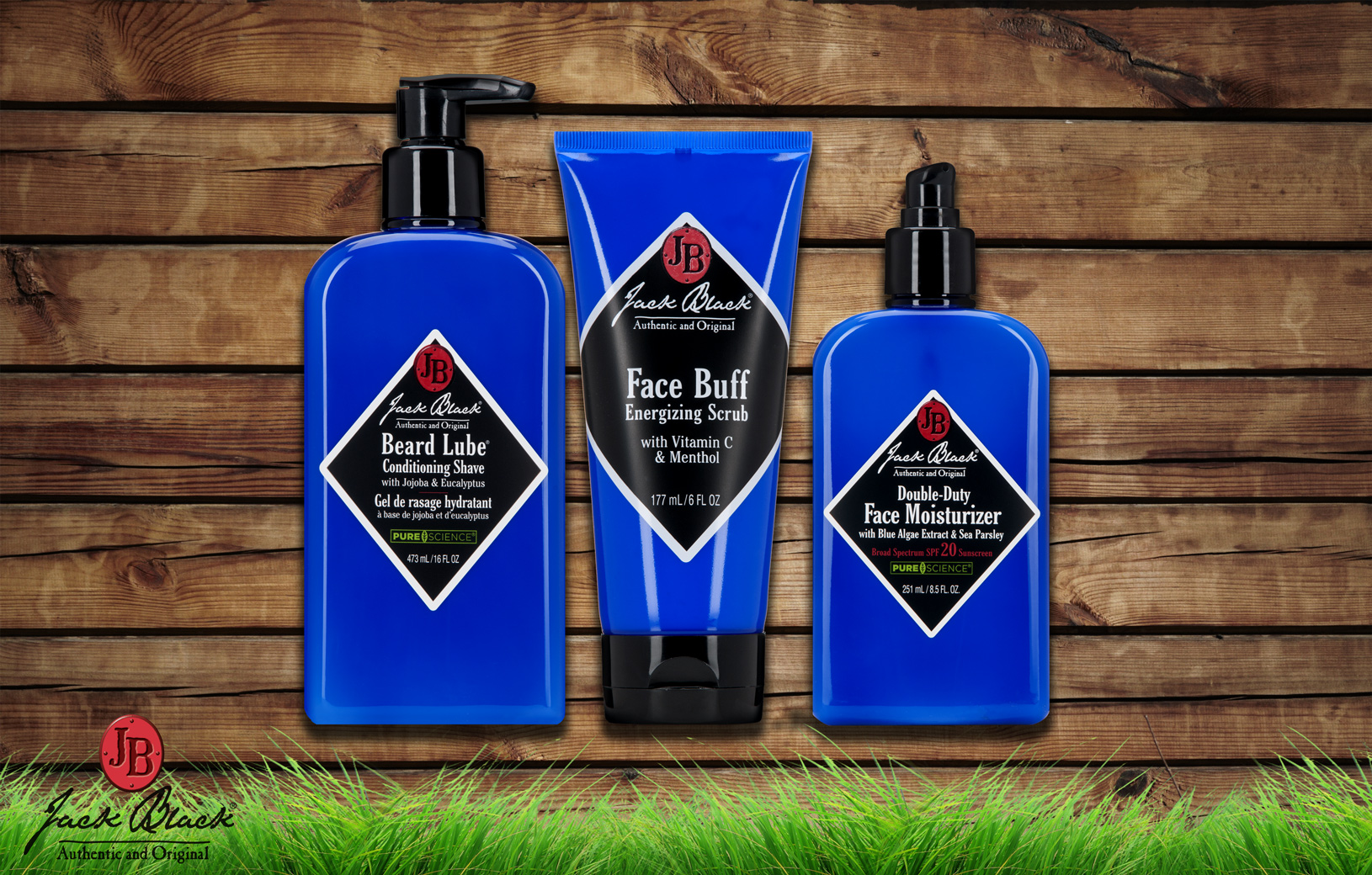 Brand Banner for Dermstore featuring Jack Black products