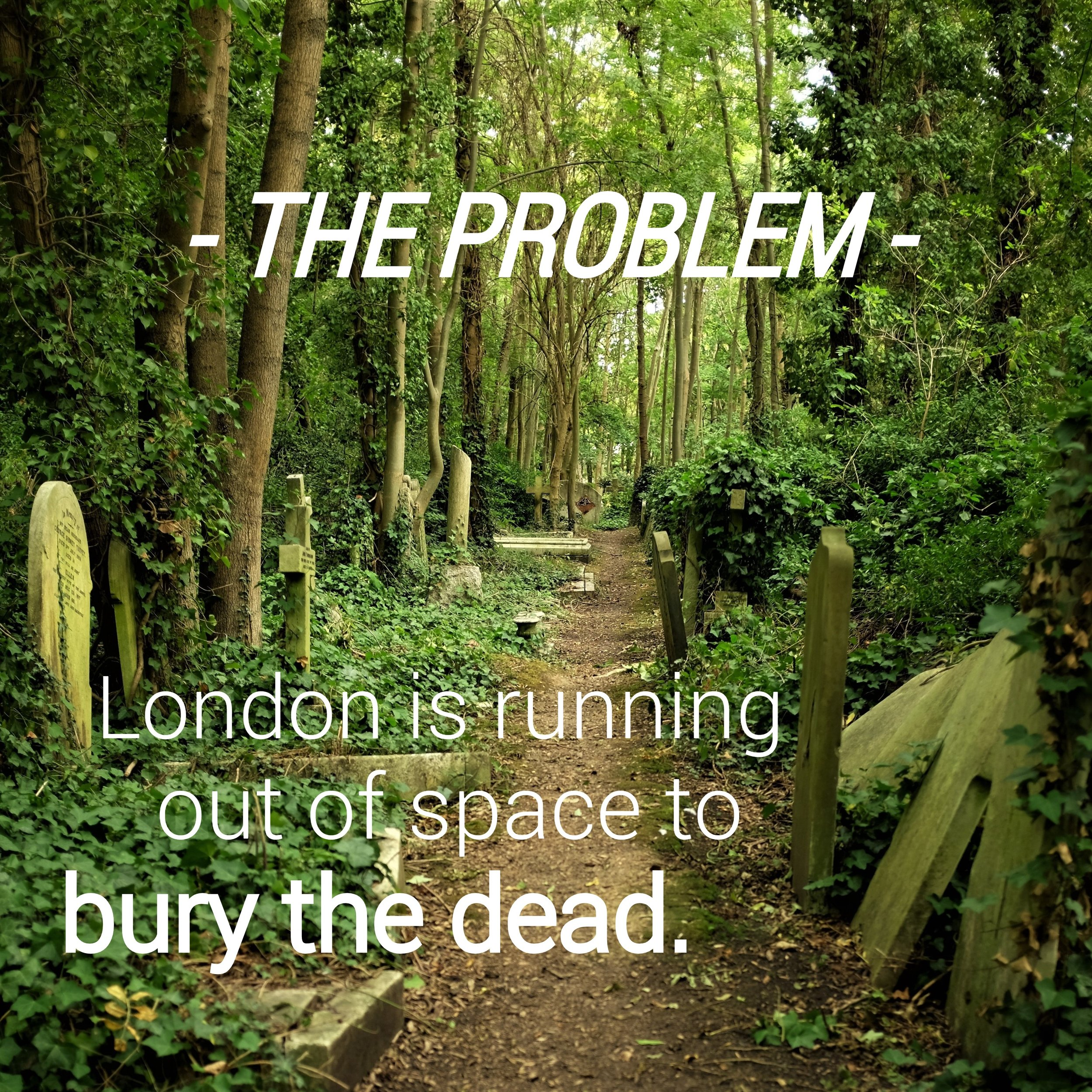 London Cemetery The Problem Katie Thornton Death in the Digital Age Fulbright National Geographic Storytelling Podcast