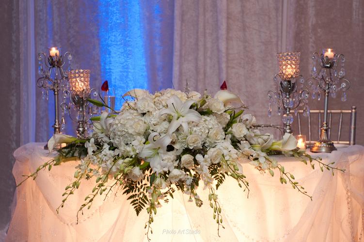 Wedding Sweetheart Table