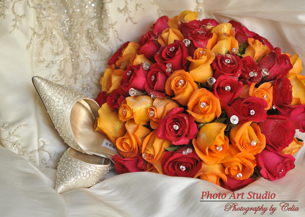 Wedding Bridal Flower Bouquet