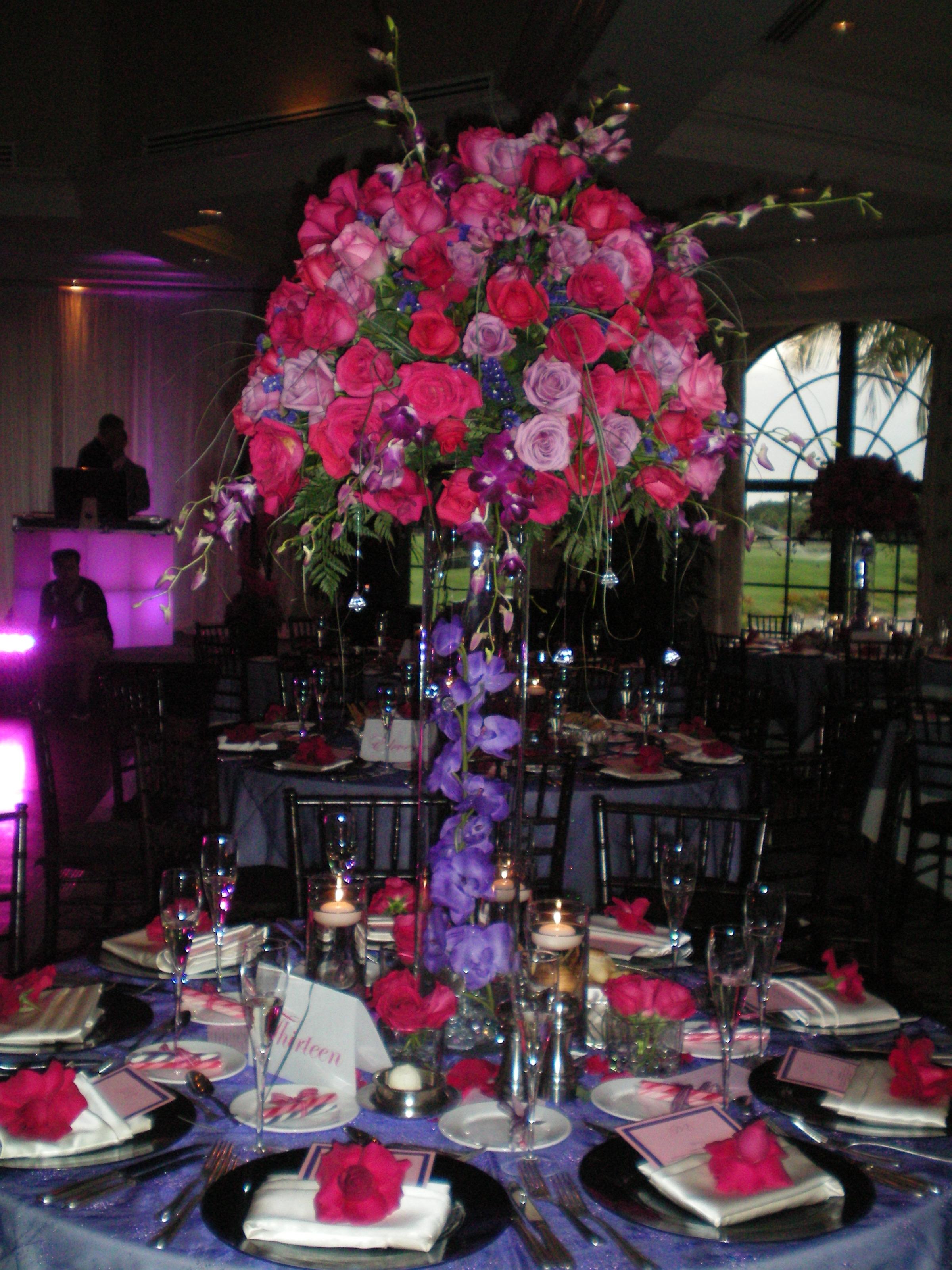 Wedding Flower Cenetrpiece